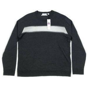 Calvin Klein Mens Sweater Crew Neck European Yarn
